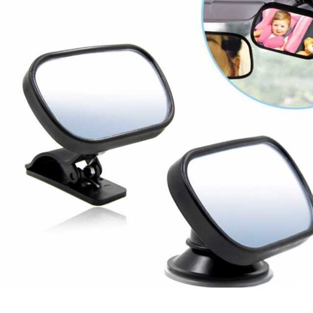 Car Rear View Mirror Back Seat Baby View Mirror Safety Kids Monitor