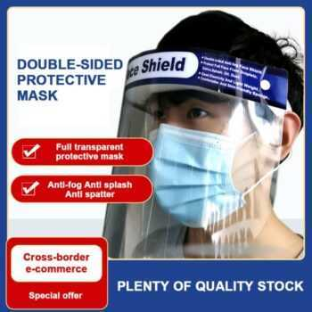 1 PC Full Cover Face Mask Clear Anti Visor Oil Spatter Fume Shield Protection Guard Protective Masky Mascarillas Mouth Mask