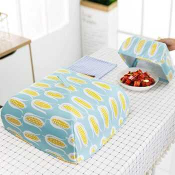 1 Pc Food Covers Nets Keep Warm Vegetable Cover Foldable Aluminum Foil Cover Dishes Insulation Kitchen Cozinha Criativa 66CY