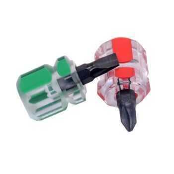 1 Pcs Environmental Screwdriver Kit Set Mini Small Portable Radish Head Cross/Slotted Screw 2.5mm Cross Bolt Driver