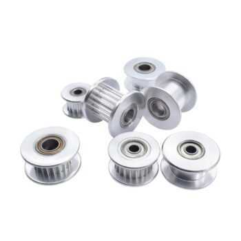 1 Pc Durable 16T/20T GT2 Aluminum Timing Pulley With/Without Tooth For DIY 3D Printer