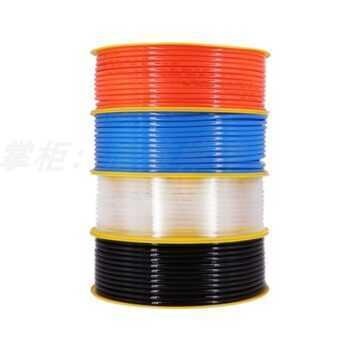 1 Meter High pressure Pneumatic Component PU Tube 4/6/8/10/12mm OD Air Line Polyurethane Hose for Compressor