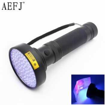 100LED 51LED 41LED 21LED 12LED UV Light 395-400nm LED UV Flashlight torches light lamp