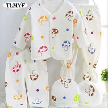 (5pcs/set)Newborn Baby 0-6M Clothing Set Brand Baby Boy/Girl Clothes 100% Cotton spring Cartoon Underwear,AS005