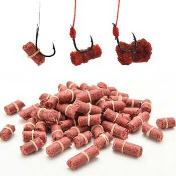 1 Bag Fishing Bait Smell Grass Carp Baits Fishing Baits Lure Formula Insect Particle Rods &T8