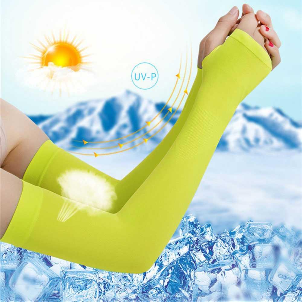 Arm Sleeves Warmers Sports Sleeve Sun UV Protection Hand Cover Cooling Warmer Running Basketball Cycling Ski mangas para brazo