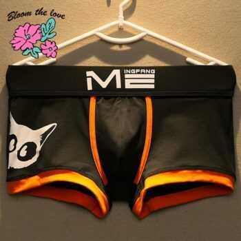Brand New Men Underwear boxer Cotton Cartoon Cat Ropa Interior Hombre Cuecas Masculina Mens Boxers Size M-3XL