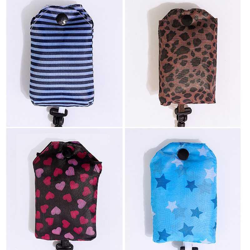 Reusable Shopping Bag Foldable Handbag Newborn Baby Diaper Bag Maternity Nappy Nursing Care Bag Baby Stroller Bag Accessories