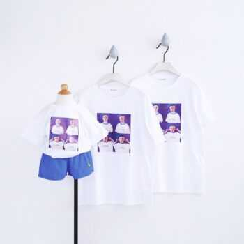 100% Cotton Family Matching T Shirt Clothes Mommy and Me Mother Daughter Dress Mum Mama Child Kids Tee Dad Mom Son Outfits