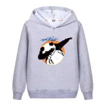 2018 New Autumn Kawaii Kids Tops Dabbing Unicorn/Panda Printing Casual Girls Hoodies Cute Cartoon Clothing Boys Funny Sweatshirt